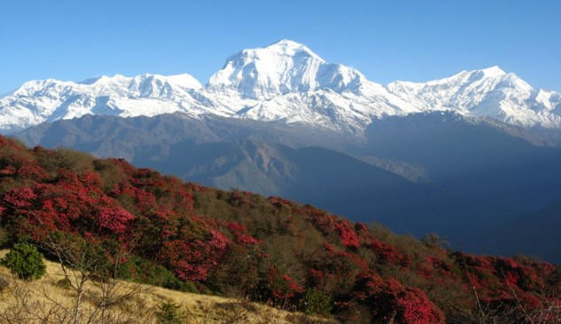 Ghorepani circuit via hot spring Trek 10 days